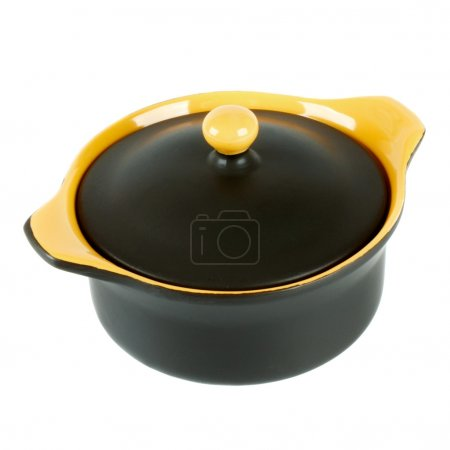 Ceramic pot for baking