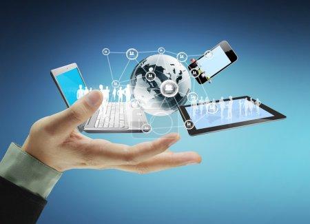 La tecnología en las manos