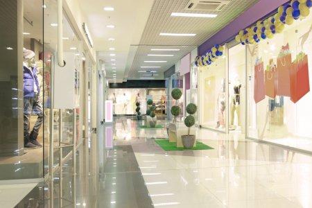 Foto de Interior del centro comercial - Imagen libre de derechos