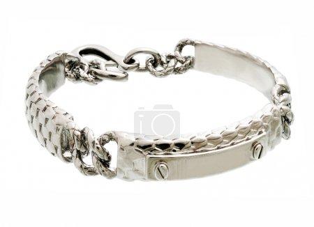 Silver braselet