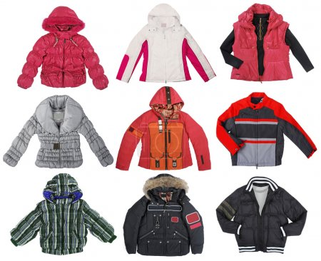 Collection of color jacket