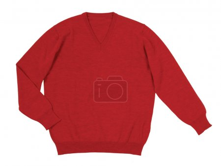 Photo for Red sweater - Royalty Free Image