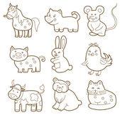 vector animal (coloring book)