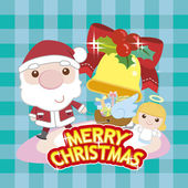 Cartoon xmas card