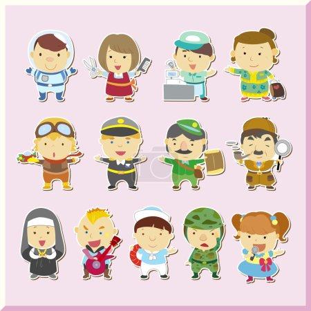 Photo pour Illustration du jeu d'emplois, vecteur - image libre de droit