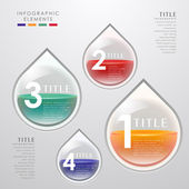 Vector abstract 3d paper infographics can be used for workflow layout diagram number options web design