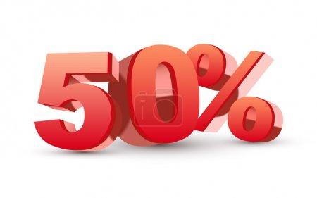 3D блестящий красный коллекции - 50% скидка