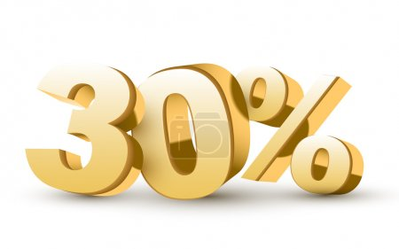 3d shiny golden discount collection - 30 percent