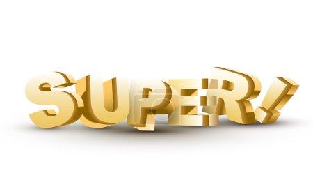 3D super word