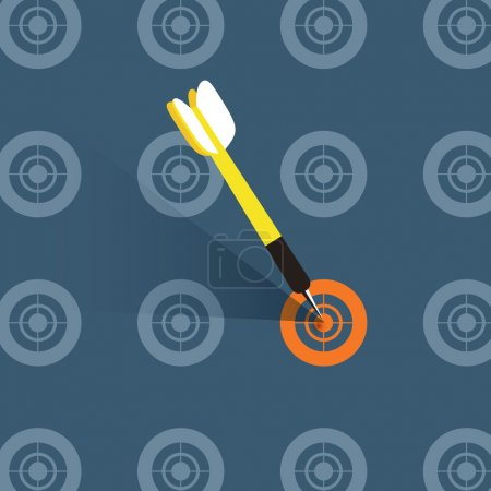 Illustration for Flat design vector illustration concept of good choice - Royalty Free Image