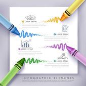 business education crayon Infographics