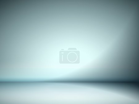 Abstract illustration background texture of cyan wall