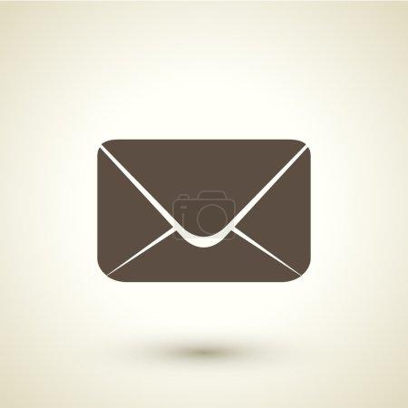 retro style email  icon