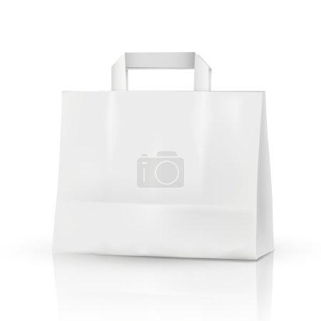 3d vector blank template, 3d shopping bag
