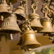 Bells of the old temple in Rudraprayag, India....