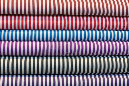 Photo pour Magasin de tissu à jaipur, Inde - image libre de droit