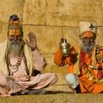 Indian sadhu (holy man). Jaisalmer, Rajasthan, Ind...