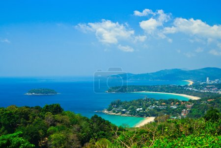 Viewpoint phuket bay city thailand