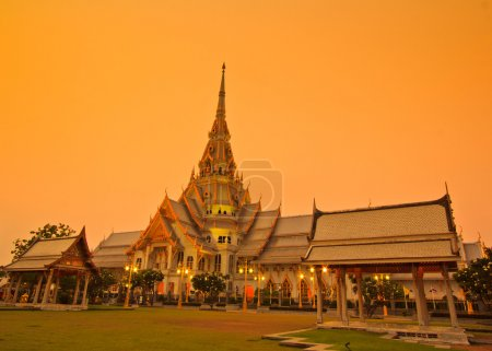 Wat So-thorn Temple in Thailand