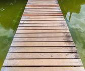 """Постер, картина, фотообои """"Wooden Bridge"""""""