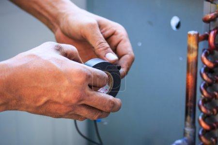 Repairing air-conditioning