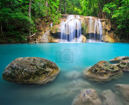 Beatifull blue waterfall