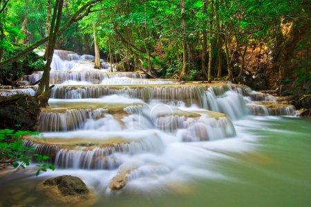 Photo pour Huay mae kamin cascade Asie, Thaïlande - image libre de droit