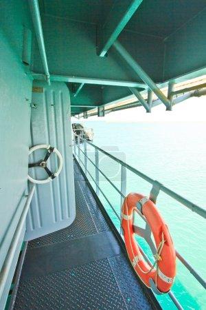 Passage on the Battleship