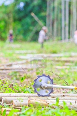 Saw to cut wood Sawing machine