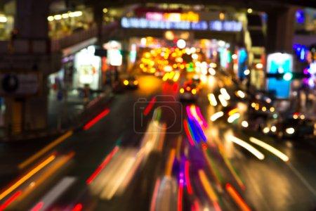 Photo pour Veilleuses de la ville - image libre de droit