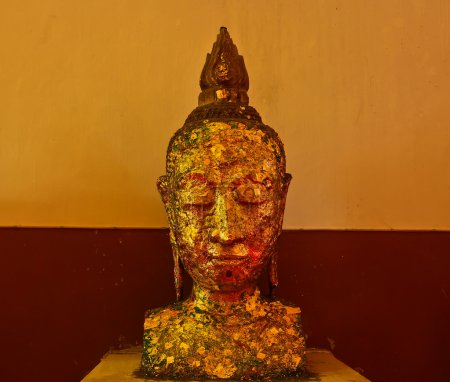 Photo for Golden Buddha closeup - Royalty Free Image