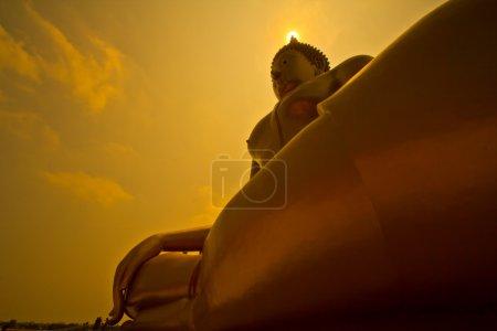 Big buddha in temple