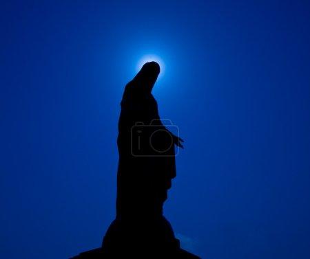 Photo pour Statue de Vierge Marie en Thaïlande - image libre de droit