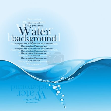 Water background.