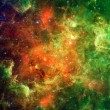 Landscape of clusters of young stars (about 1 mill...