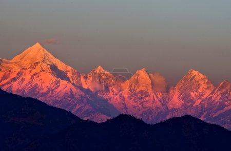 mountain panchachuli
