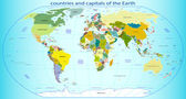 countries and capitals of the Earth