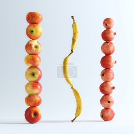 Conceptual Picture Of Fruits