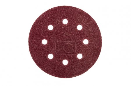 sandpaper with holes