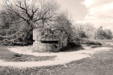 Bunker pillbox first wotld war trench of death
