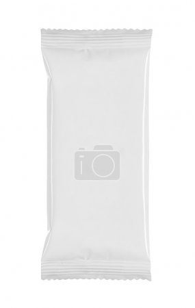 Photo for Blank white product packaging on white bacground - Royalty Free Image
