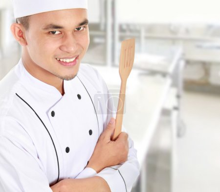 portrait of chef smiling