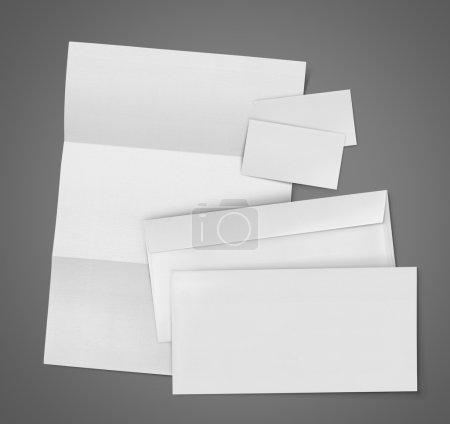 Blank Set Stationery Corporate ID