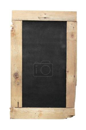 Wooden old blackboard
