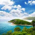 Illustration,Island view from Laem Phrom Thep, Phu...
