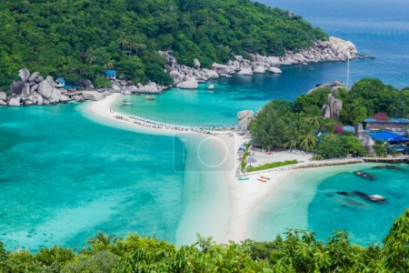 Photo for Tropical Island Paradise Koh Nangyuan, Thailand - Royalty Free Image