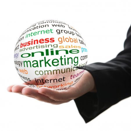 Concept of online marketing in business