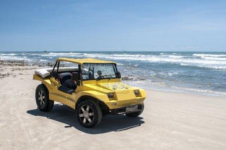 Yellow beach buggy