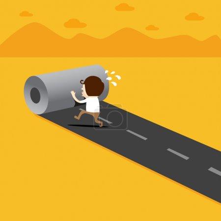Illustration for Business concept illustration - Royalty Free Image