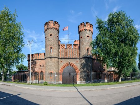 Friedrichsburg gate. Kaliningrad. Russia